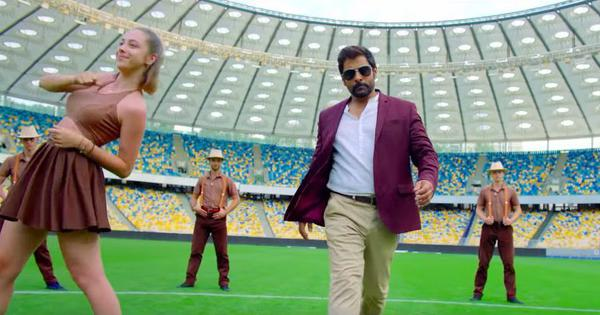 Watch: Vikram's walk is like a 'Pudhu Metro Rail' in latest song from 'Saamy Square'