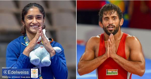 Wrestling: Vinesh Phogat earns top billing for Tokyo 2020; Bajrang Punia, Deepak Punia seeded second