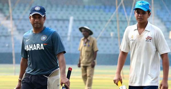 Sachin Tendulkar wants son Arjun to give his best in T20 Mumbai League and not worry about results