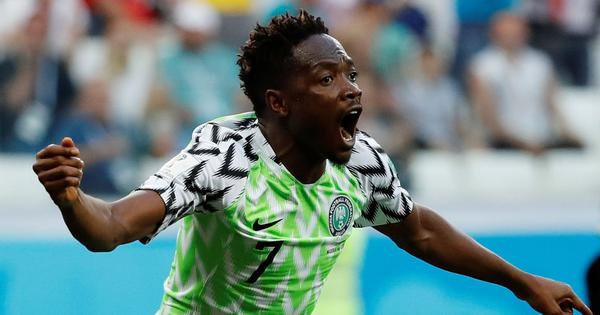 World Cup: Nigeria and Musa win second-half cat-and-mouse tactical battle to stun Iceland