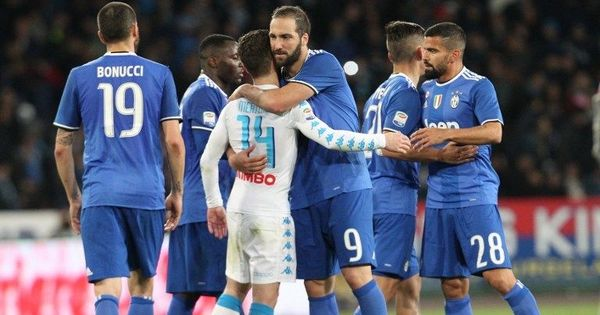 Serie A: Marek Hamsik cancels out Sami Khedira's opener as Napoli play out 1-1 draw with Juventus