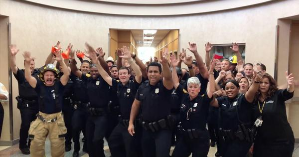 Watch: Police departments in the US are engaging in a lip-sync battle, and some are just slaying it