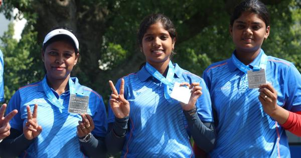 Archery World Cup: Indian women win silver in the compound team event after close defeat in final