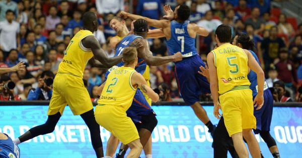 Australia and Philippines apologise to basketball fans worldwide for on-court brawling