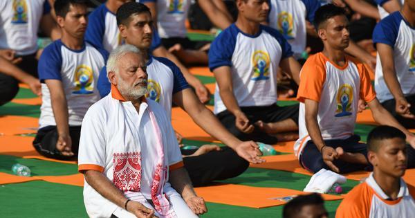 बिहार में योग दिवस के कार्यक्रमों से जेडीयू ने दूरी क्यों बनाई है?