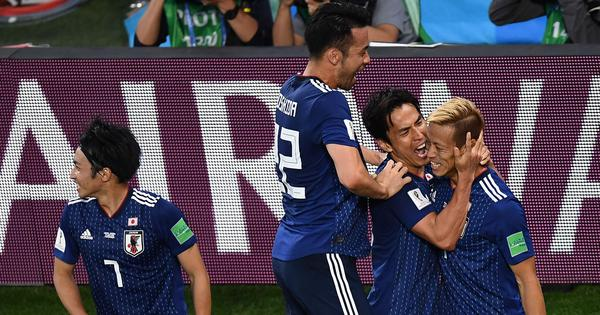 Fifa World Cup: Spirited Japan grab point as Honda scores late equaliser against Senegal