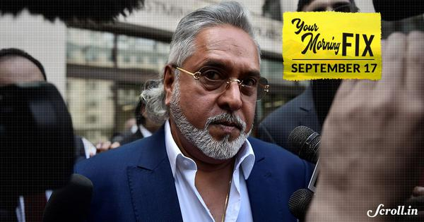 Your Morning Fix: Was Vijay Mallya allowed to 'flee' the country? The Opposition alleges he was