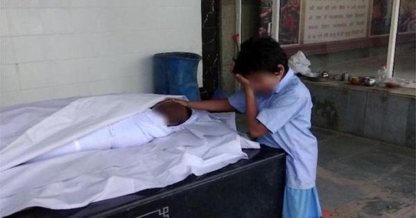 एक तस्वीर जिसने सीवर में मरे एक शख्स के बच्चों के लिए दो दिन में 52 लाख रु जुटा दिए