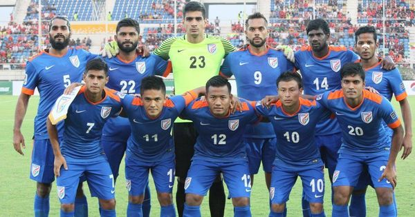 India surge to 101 in the latest FIFA rankings – their best since 1996