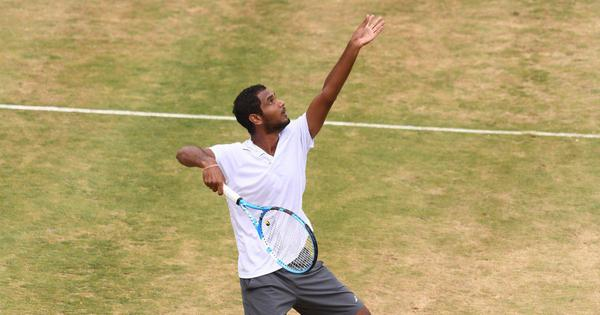 With runner-up finish in his first ATP final, Ramkumar shows he has the game for the big stage