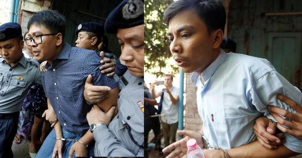 Myanmar's top court rejects appeals of Reuters reporters jailed for reporting on Rohingya killings
