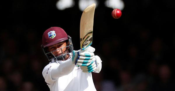 Shane Dowrich leads rescue after rain hampers first day/night Test in West Indies