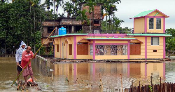 North East floods: Two killed in Manipur, four die in Tripura due to heavy rain