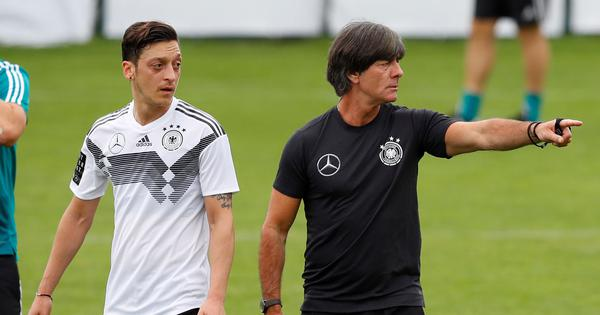 Germany coach Joachim Loew stopped from meeting Mesut Ozil at Arsenal: Report