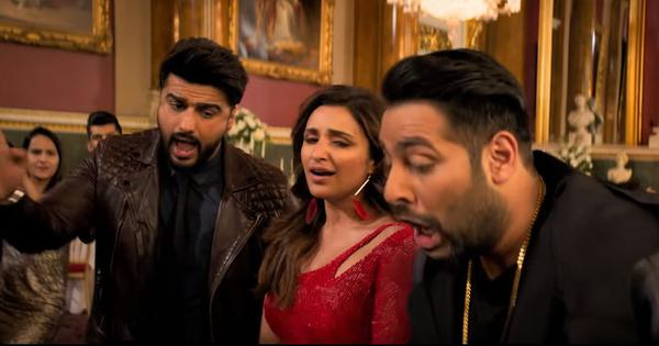 Watch: Arjun Kapoor, Parineeti Chopra and Badshah let their hair down in 'Bhare Bazaar'