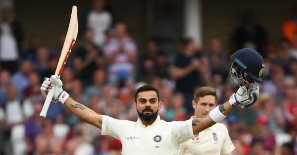 'Kohli is just bossing cricket': Twitter in awe as India skipper scores yet another century