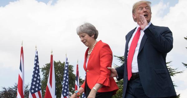 Brexit: Donald Trump told me to sue the European Union, British PM tells BBC