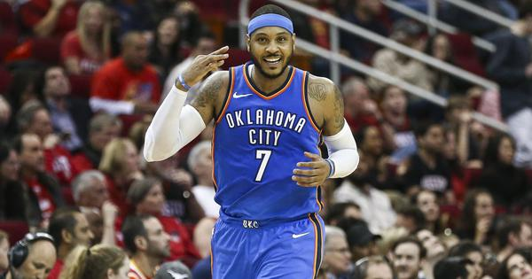 NBA: Carmelo Anthony signs one-year deal with Houston Rockets, his fourth team in a year
