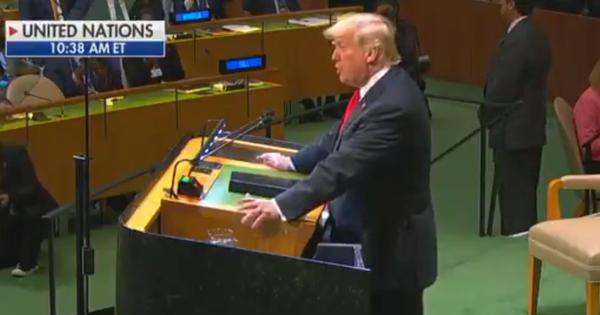 Watch: Donald Trump boasts of his own achievements at the UN. World leaders laugh