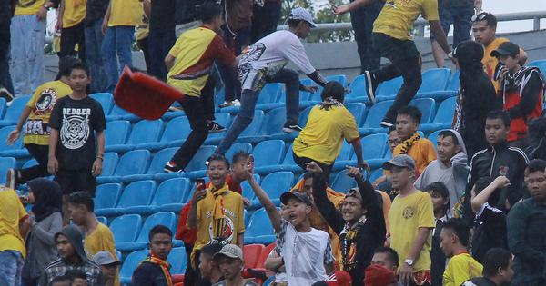 Gelora Sriwijaya Stadium to be used for Asian Games damaged by Indonesian football fans