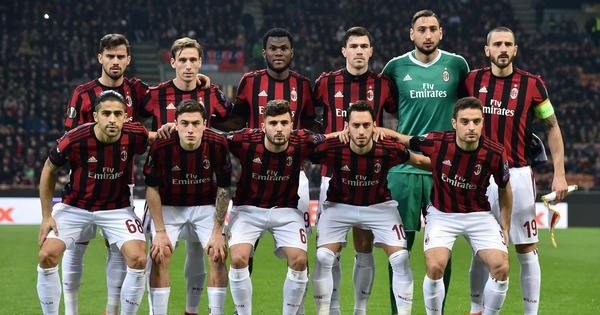 Court of Arbitration for Sport withdraws AC Milan's Europa League ban