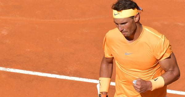 Italian Open: Djokovic fights hard, but clinical Nadal wins the semi-final in straight sets