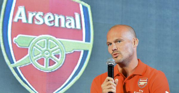 Freddie Ljungberg returns to Arsenal as Under-23 coach