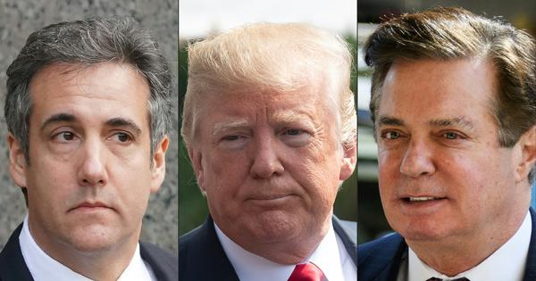 With Cohen and Manafort both guilty, the pressure on Donald Trump is rising