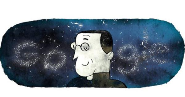 Google celebrates 124th birthday of Belgian astronomer Georges Lemaître with a doodle
