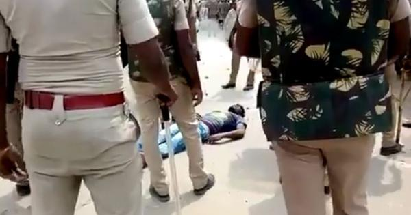Watch: Policemen surround dying man at anti-Sterlite protest, tell him to 'stop acting'