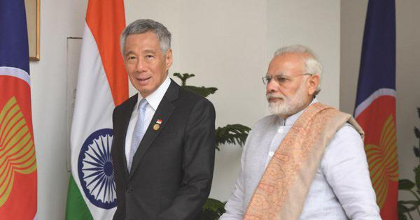 India and Singapore sign naval cooperation agreement