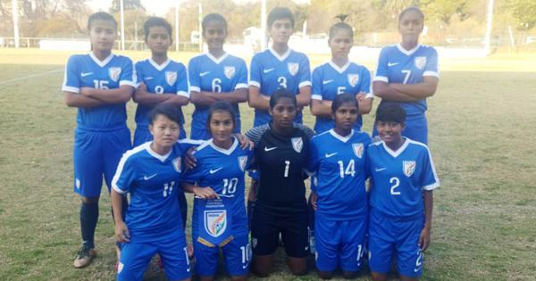 India lose 1-5 to South Africa in BRICS U-17 girls' football tourney