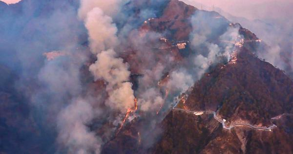 Vaishno Devi yatra resumes after forest fire is doused in Trikuta Hills
