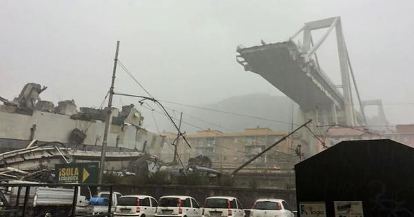 Italy: Motorway bridge collapses in Genoa, casualties feared