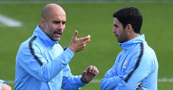 He's ready: Guardiola says he won't stand in Arteta's way if he decides to take up head coach's job