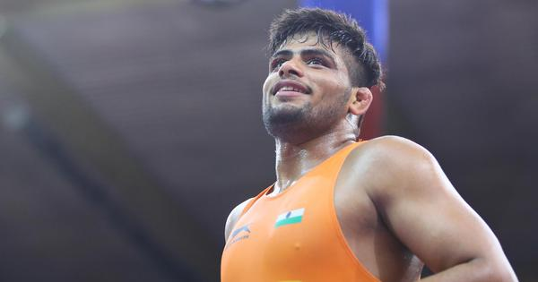 Wrestling: Sajan wins historic silver for India at Junior World Championships