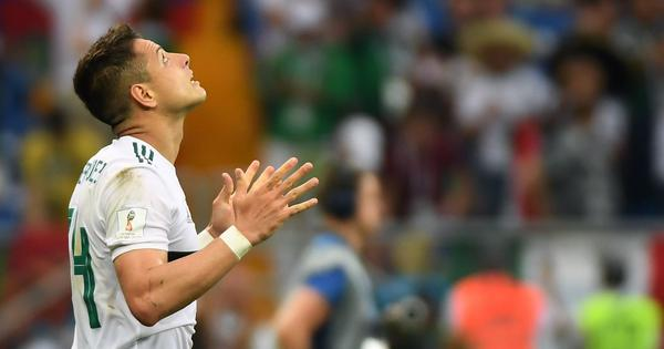 Fifa World Cup: Javier Hernandez and Carlos Vela score to almost seal Mexico progression