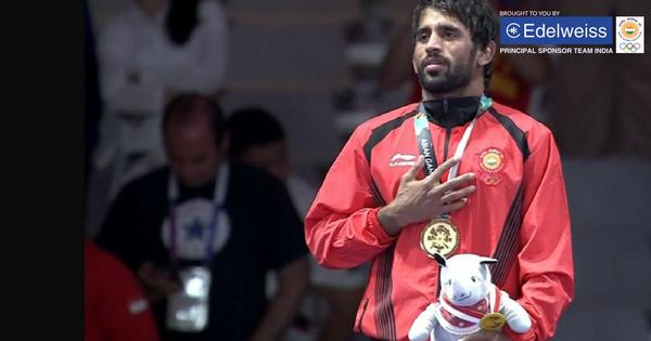 A stupendous show: Tributes pour in for Bajrang Punia on Twitter as he bags gold at Asian Games