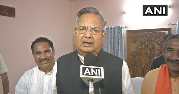 छत्तीसगढ़ : रमन सिंह ने हार की जिम्मेदारी लेते हुए मुख्यमंत्री पद से इस्तीफा दिया