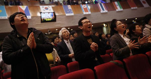 For many South Korean Christians, reunification with the North is a religious goal