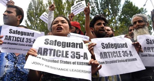 Jammu and Kashmir: Shutdown in Valley over petitions challenging validity of Article 35A