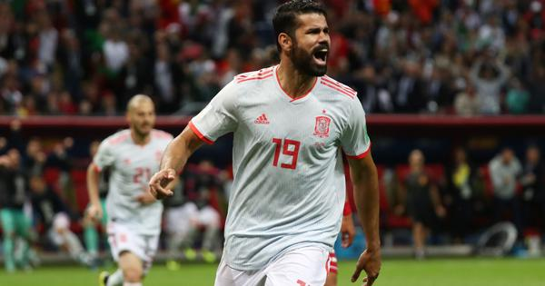 World Cup: Diego Costa's lucky goal sees Spain defeat a resilient Iran side