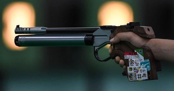 World Shooting Championships: Udhayveer Singh wins junior men's 25m pistol gold