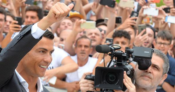 'I'm not like the others, I'm different': Cristiano Ronaldo sounds warning at Juventus unveiling