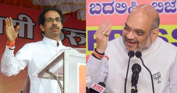 महाराष्ट्र : भाजपा और शिवसेना मिलकर चुनाव लड़ेंगी, सीटों के बंटवारे का मसला भी सुलझा