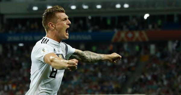 'Toni Kroos - Germany's Houdini': Twitter reacts to Die Mannschaft's stunning win against Sweden