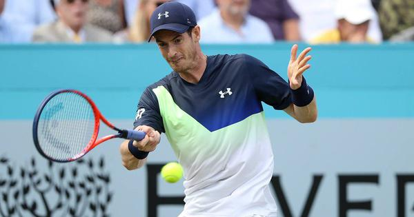 Despite encouraging signs, Murray's comeback ends early at Queen's after defeat to Kyrgios