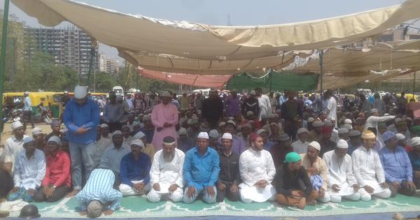 In Gurgaon, Muslims allowed to offer Friday prayers at 47 designated open spaces amid heavy security