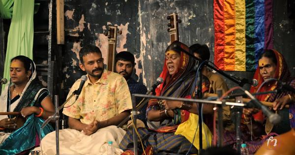 Watch: When Carnatic singer TM Krishna performed with Jogappas, a transgender community of musicians
