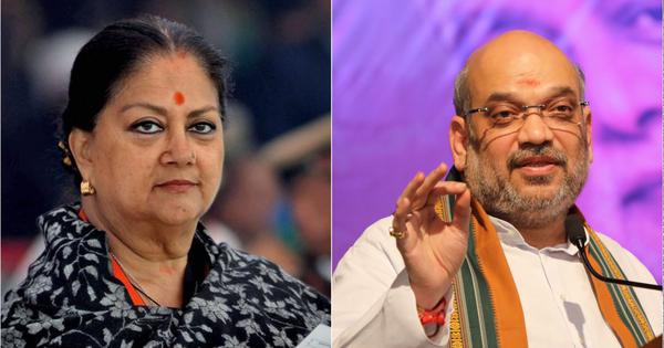 Appointment of new BJP chief in poll-bound Rajasthan seems to have calmed Shah-Raje tussle – for now